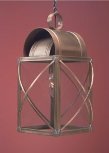 Hammerworks Colonial Hanging Copper Light HW106