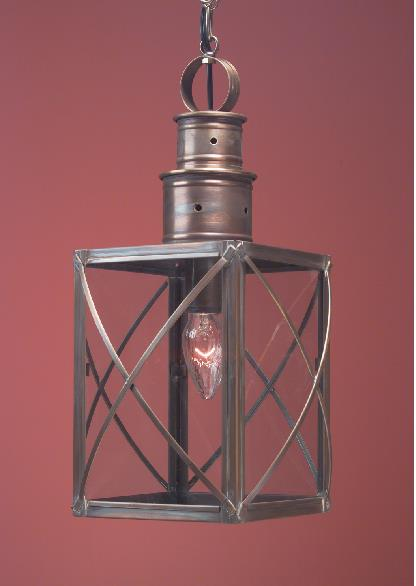 Hammerworks Copper Colonial Hanging Light HW104