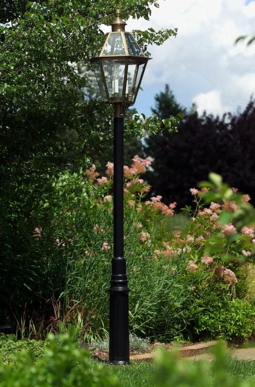 Hammerworks Aluminum Lantern Post The Essex