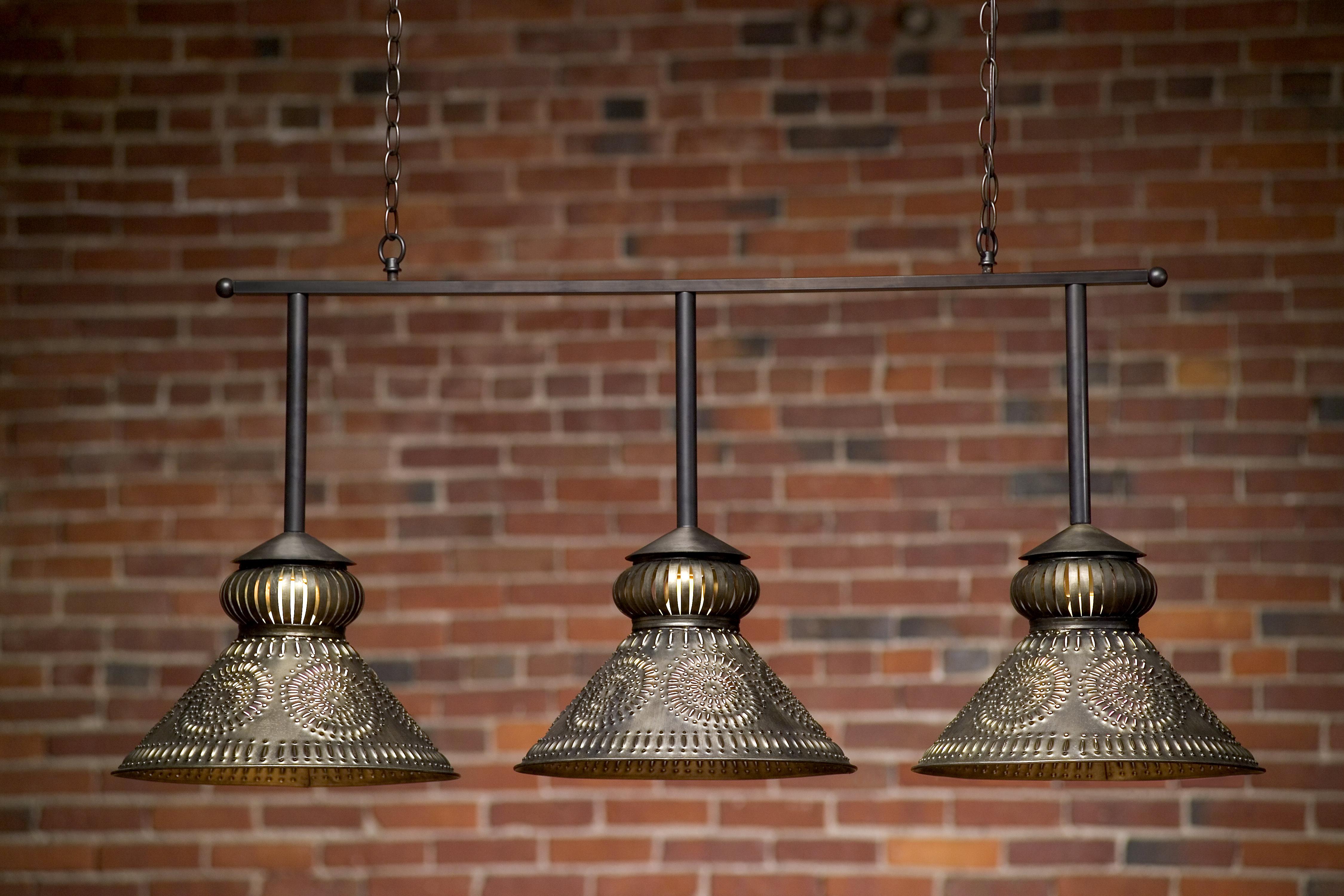 Custom Pool Table Light Hammerworks Colonial Pool Table Light