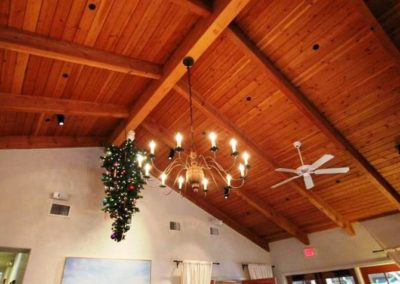 Country Wooden Chandelier: CH203A
