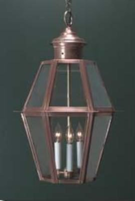 Colonial Style Hanging Lantern: Hammerworks H105A