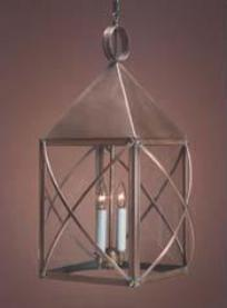 Hanging Copper Colonial Lantern: Hammerworks Hanging Light HP119