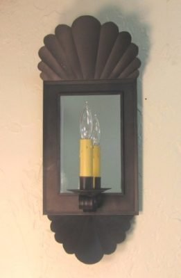 Williamsburg Primitive Wall Sconce: Hammerworks Wall Sconce S141