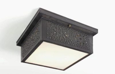 Punched Tin Ceiling Lights: Model # CL117