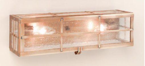 Early American Home Vanity Wall Light: Hammerworks Model VL101