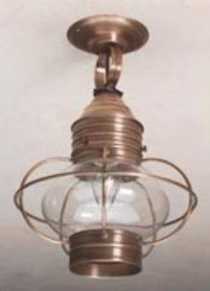 Colonial Onion Ceiling Lanterns: Hammerworks Hanging Light OCL106