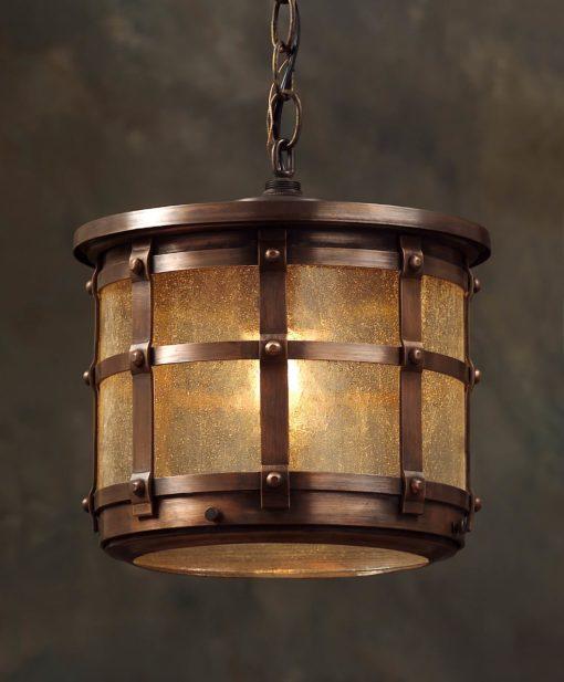 English Tudor Hanging Light Fixture: Hammerworks Hanging Tudor Light OWH1
