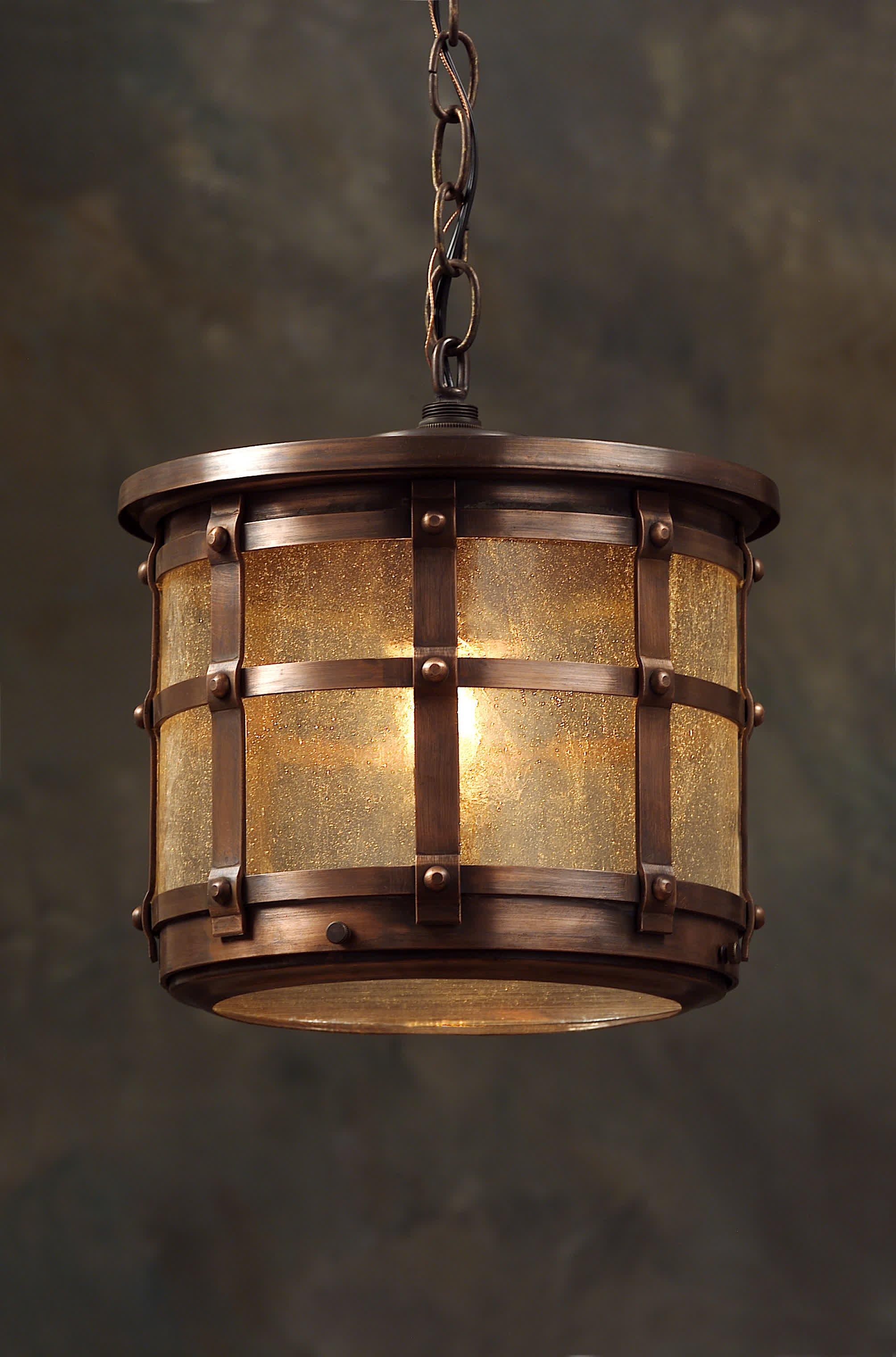 English Tudor Hanging Light Fixture Revival Lighting