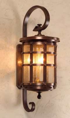Hammerworks Handmade English Tudor Copper Wall lantern OWW1
