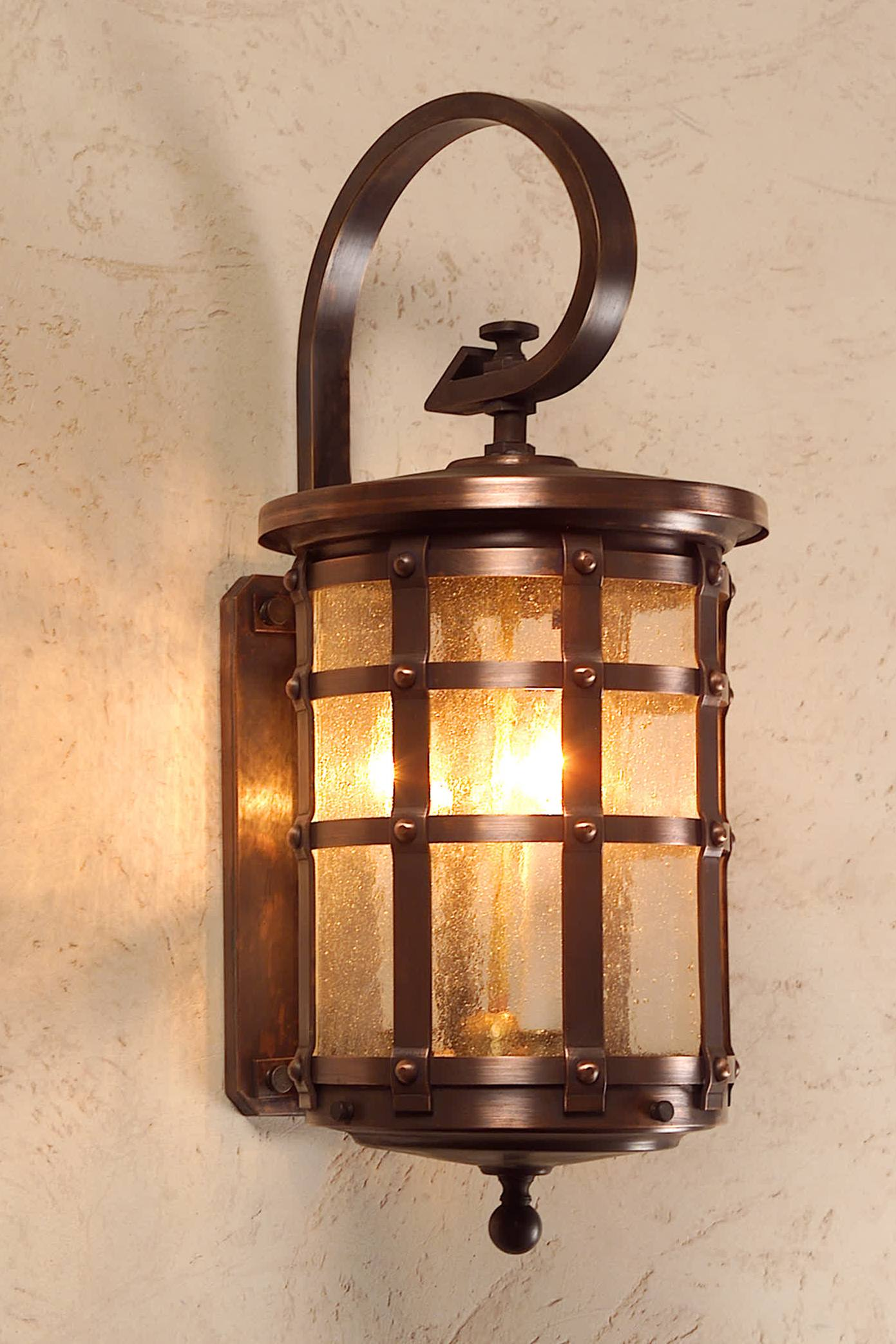 Tudor Style Copper Wall light & Lights English Style Lighting Fixtures