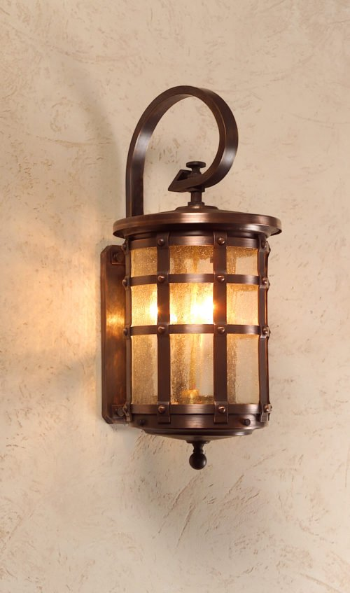Hammerworks Tudor Style Copper Wall light OWW1A