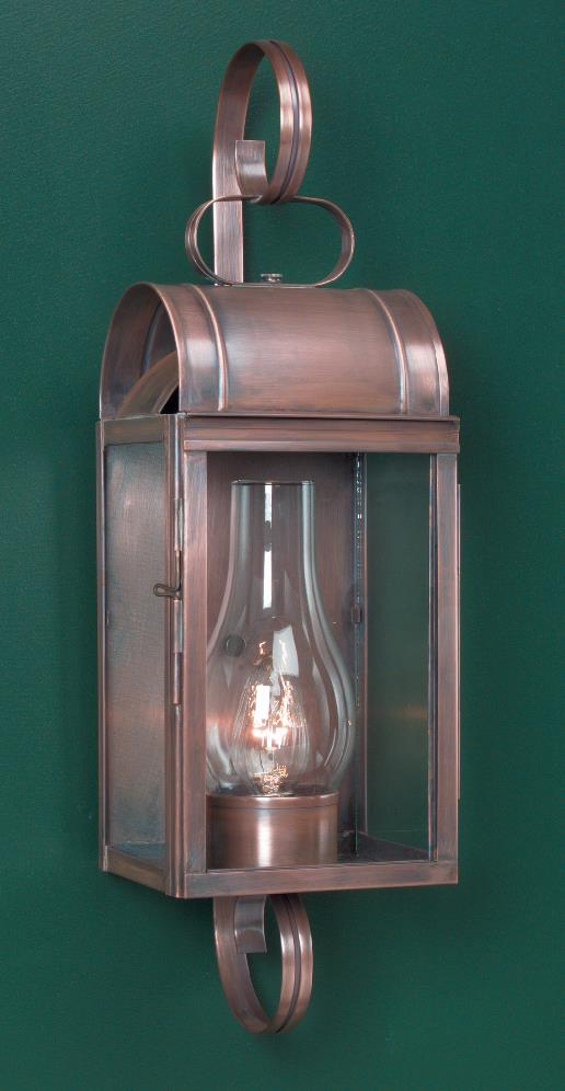 Cape cod colonial wall lights light new england style for Colonial style outdoor light fixtures