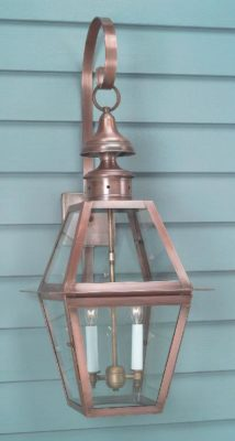 Traditional Wall Lanterns, Handmade Outdoor Lighting