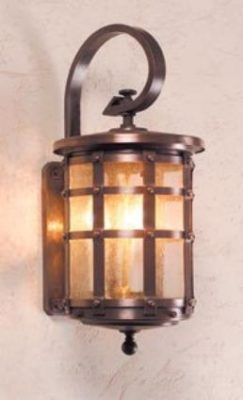 Hammerworks Handcrafted Tudor Style Copper Wall light OWW1A