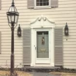 Reproduction Wall Lantern W107 | Handcrafted Colonial Lighting