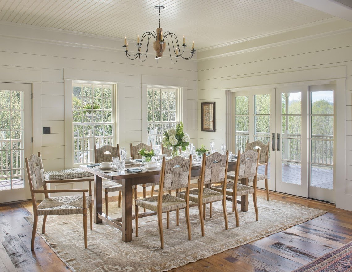 Colonial Wooden Chandelier Shown In A Light Stain With Ten Arms: Hammerworks Ch109A