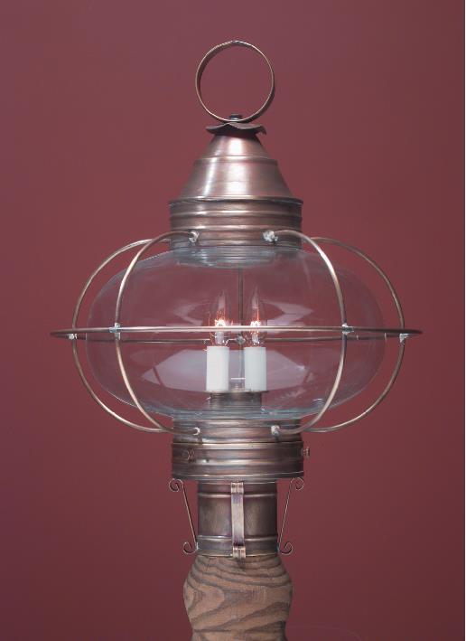 Onion Lamp Post Lights Handmade Copper Lighting By
