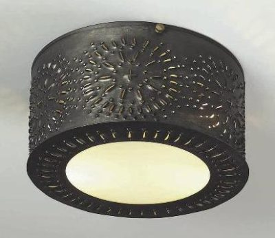 Pierced Tin Ceiling Lights: Model # CL116
