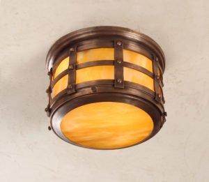 Hammerworks Tudor Style Ceiling Light OWC1