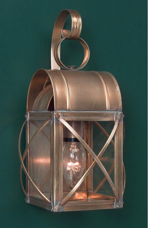 Exterior Brass Wall Lights & Light Handmade Rustic Wall & Post Lights