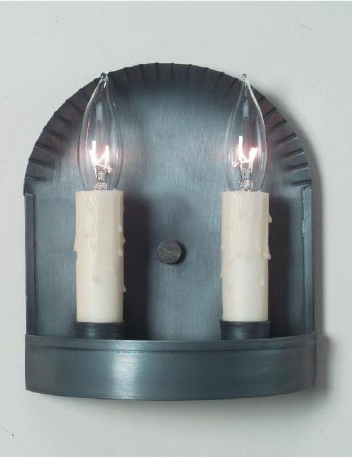 Small Tin Wall Sconce: Hammerworks Wall Sconce S108