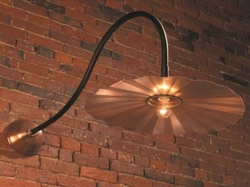Hammerworks Gooseneck Barn Lights SL503L Handmade With Solid Copper
