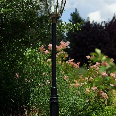 Hammerworks Aluminum Lantern Post: The Essex