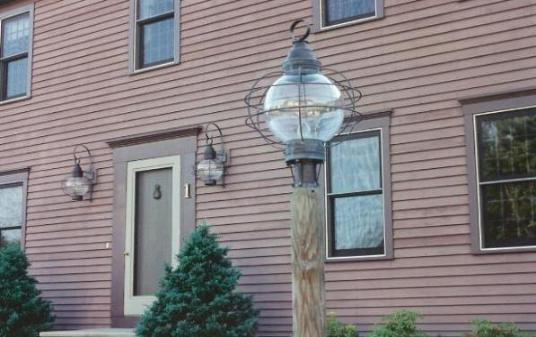 Hammerworks Onion Copper Wall Lanterns- Model RG12