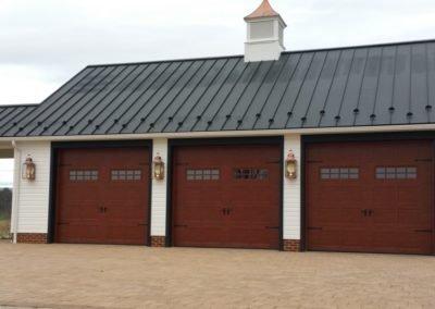 Hammerworks Colonial Copper Barn Wall Lantern: Custom Size W101