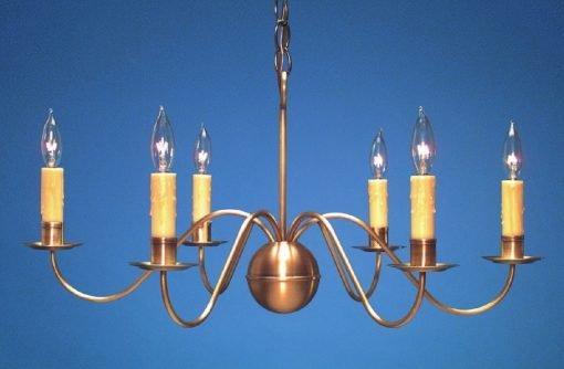 Handcrafted Antique Brass Chandelier CH116