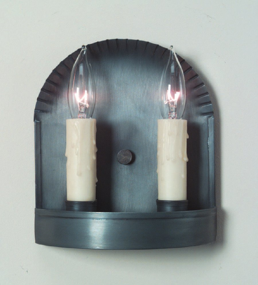 Small Tin Wall Sconce S108