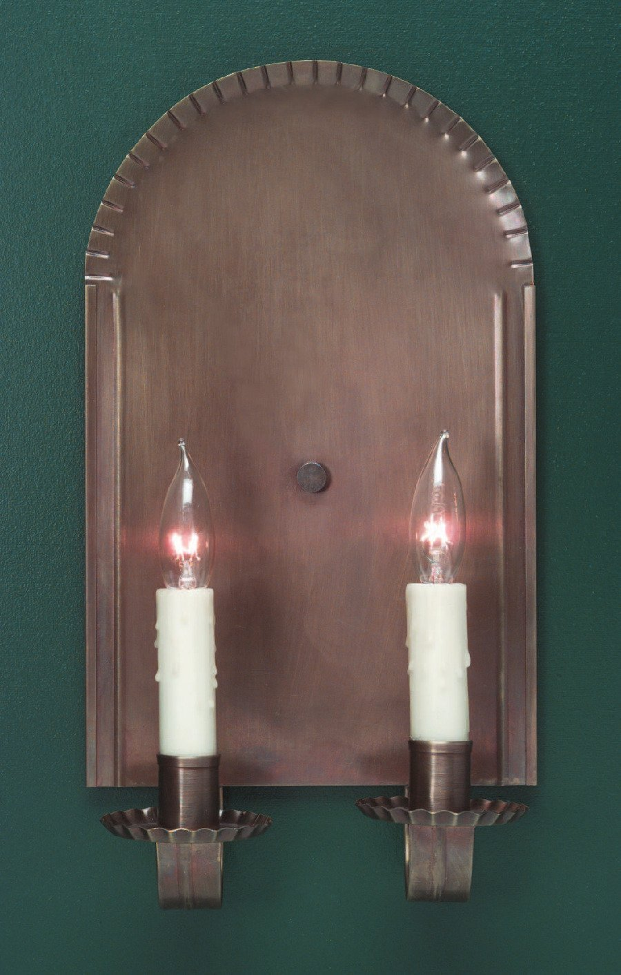 Rustic Brass Wall Sconce S109