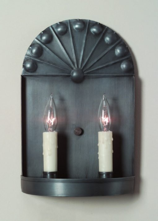Rustic Tin Wall Sconces: S129