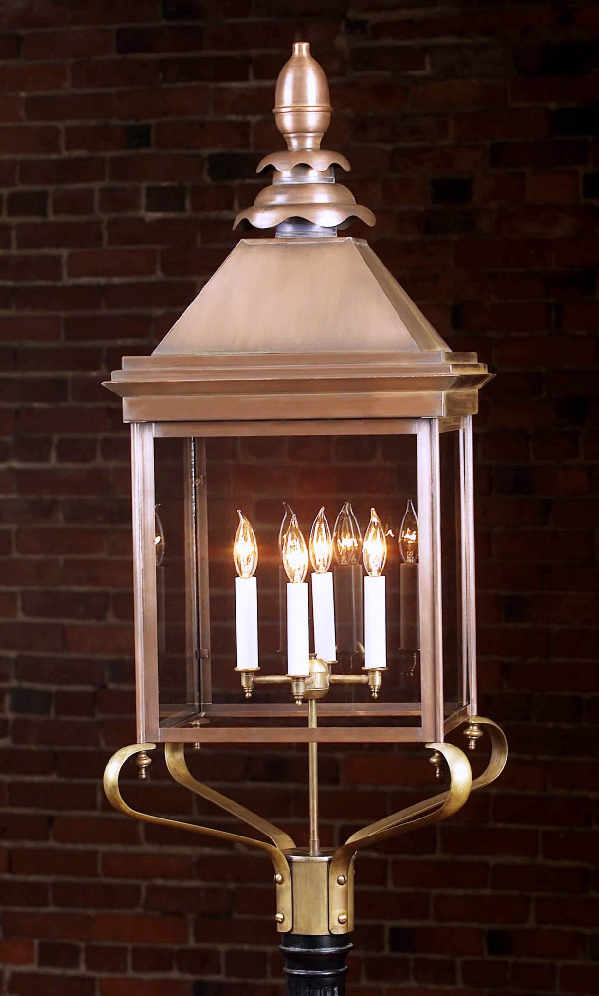 English Style Copper House Light 922P