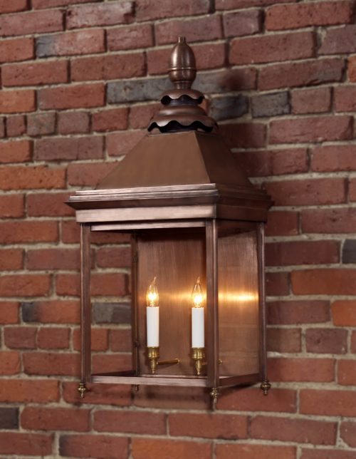 Hammerworks English Manor House Wall Lights Handcrafted With Solid Copper In America | Product 922W