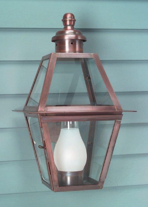 Traditional Copper Wall Lantern WM112