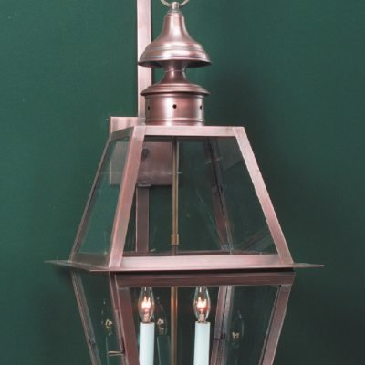 Solid Copper Traditional Wall Lanterns WML102