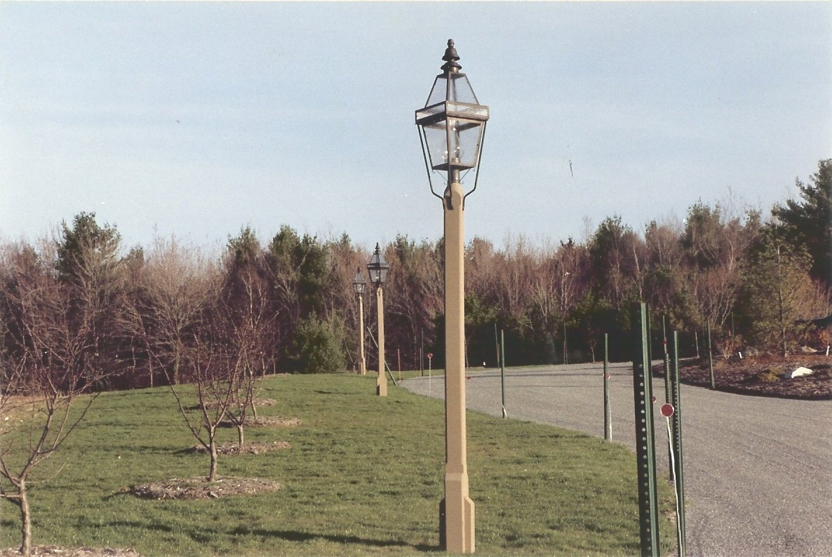 Hammerworks Boston Style Street Light P103 Handcrafted With Solid Copper