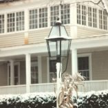 Hammerworks Colonial Style Post Lantern P111 Handcrafted In Solid Copper