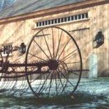 Colonial Reproduction Wall Lights: Hammerworks Barn Lantern W102