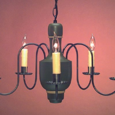 Colonial Dining Room Wooden Chandeliers: CH107