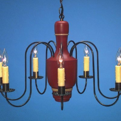Country Wood Chandelier CH110
