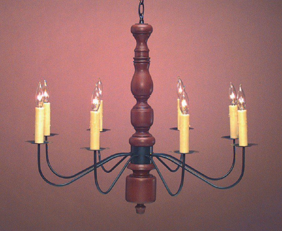 Colonial Home Wooden Chandelier CH121