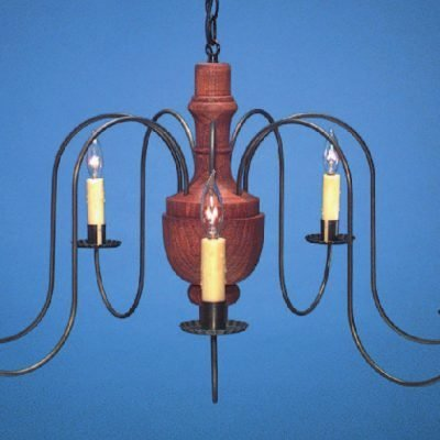 Antique Reproduction Wooden Chandelier CH321