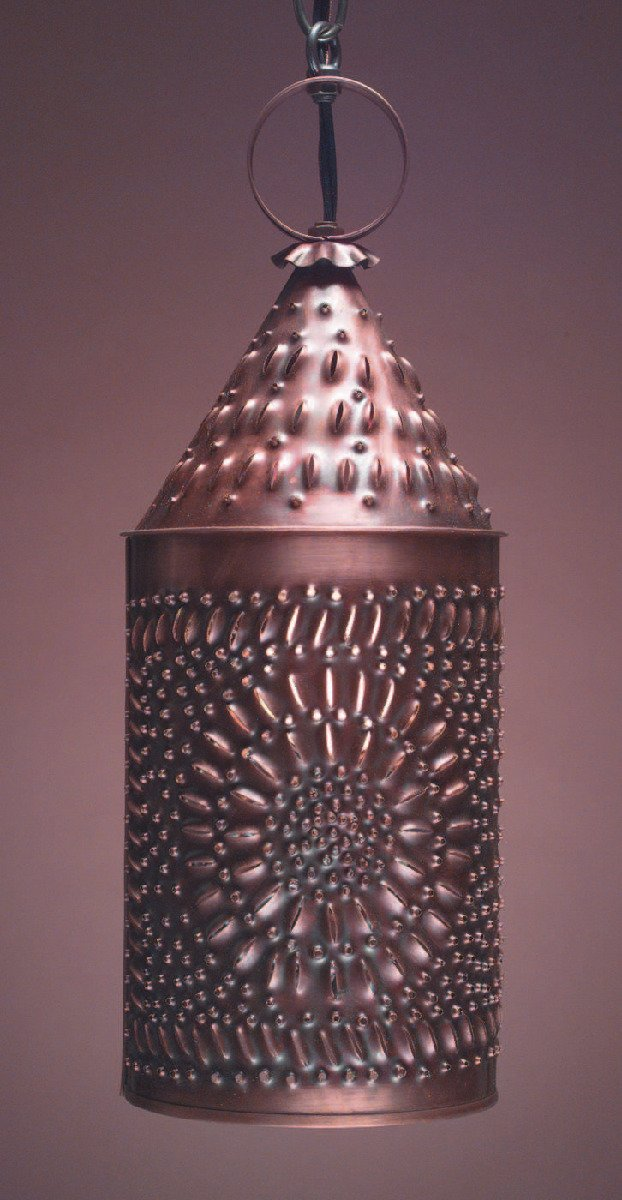 Colonial Punched Tin Vanity Light PL1