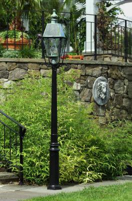 Hammerworks Cast Aluminum Lantern Poles: The Colonial