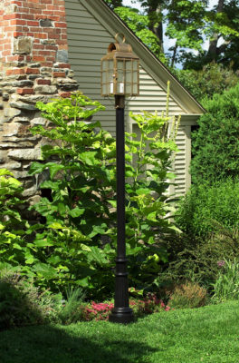 Hammerworks Aluminum Lantern Pole: The Yarmouth