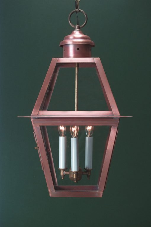 Handcrafted Colonial Pendant Light H112
