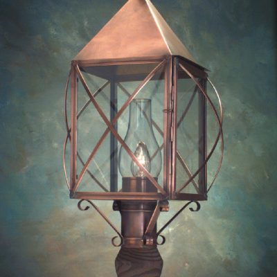 Cape Cod Copper Post Lanterns PP119